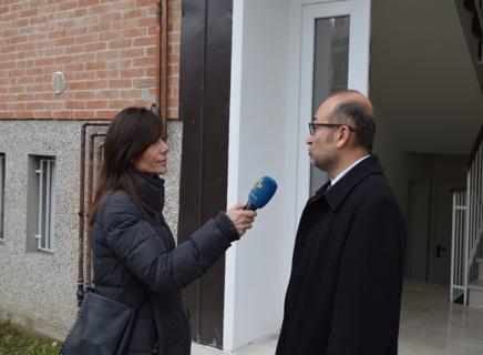 Il Presidente dell'A.T.E.R di Padova Avv. Gianluca Zaramella